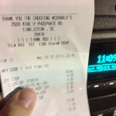 Photo taken at McDonald's by Mack A. on 3/17/2012