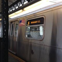 Photo taken at MTA Subway - Astoria/Ditmars Blvd (N/Q) by Kenneth W. on 6/28/2012