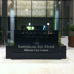 Photo taken at Kempinski Grand Hotel by Fahad on 8/17/2012