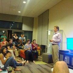 Photo taken at GSB MBA Lounge by Greg B. on 5/22/2012
