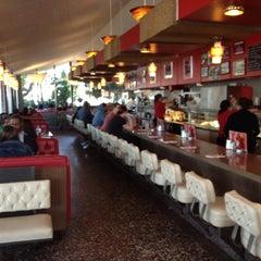 Photo taken at Pann's Restaurant & Coffee Shop by Gene B. on 2/4/2012