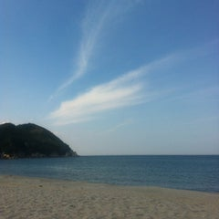 Photo taken at 용화해수욕장 by Roy K. on 8/21/2012