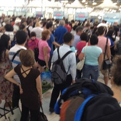 Photo taken at Thai Immigration: Passport Control - Zone 3 by Tom~Theerayuth K. on 3/1/2012