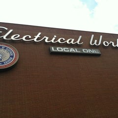 Photo taken at IBEW Local 1 by Mike G. on 5/10/2012