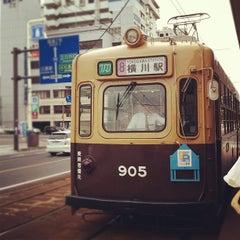 Photo taken at 広島電鉄 寺町電停 (Tera-machi Sta.) (Y2) by etsuko on 5/1/2012