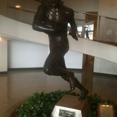 Photo taken at Pro Football Hall of Fame by Dssst on 3/6/2012