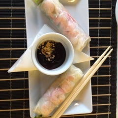 Photo taken at YAM YAM Thai Food & Café by Vasek L. on 8/12/2012