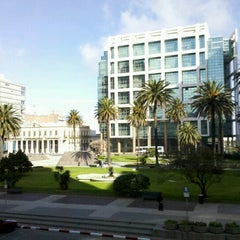 Photo taken at Plaza Independencia by Juliana S. on 9/2/2012
