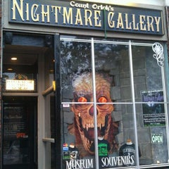 Photo taken at Count Orlock's Nightmare Gallery by ZombieDana D. on 6/2/2012