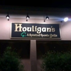 Photo taken at Houligan's by Brandon G. on 4/26/2012