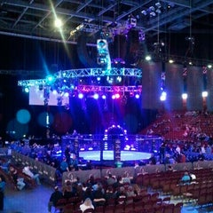 Photo taken at Mohegan Sun Arena by Lizette R. on 3/30/2012