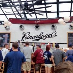 Photo taken at Leinenkugel's Beer Garden by Chris V. on 9/8/2012