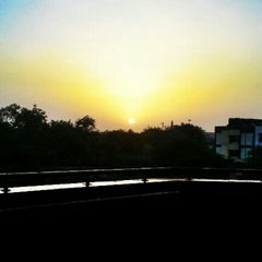 Photo taken at Tughlaqabad Metro Station by Nitish K. on 5/28/2012