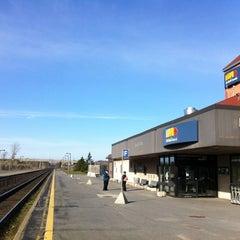 Photo taken at VIA Rail Kingston by Jason M. on 4/14/2012