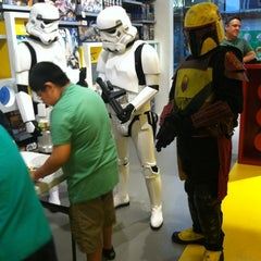Photo taken at The LEGO Store by Dewana M. on 3/17/2012