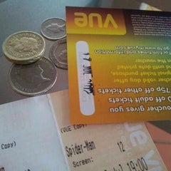 Photo taken at Vue Cinema by Instructor MJ on 7/3/2012