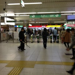 Photo taken at 松戸駅 (Matsudo Sta.) by がとく on 4/14/2012