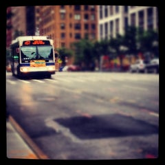 Photo taken at MTA Bus M57 by Chuck A. on 7/31/2012