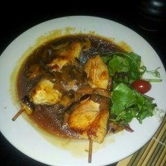 Photo taken at Dish Japanese Restaurant by Michael K. on 8/18/2012