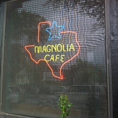 Photo taken at Magnolia Cafe by Errol M. on 3/15/2012
