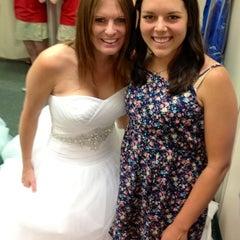 Photo taken at David's Bridal by Amy W. on 5/24/2012