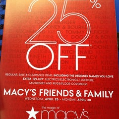 Photo taken at Macy's by Erykah A. on 4/19/2012