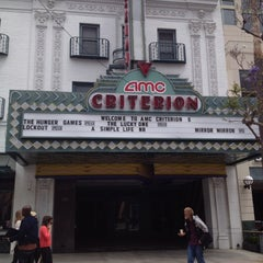 Photo taken at AMC Criterion 6 by Alexey S. on 4/24/2012