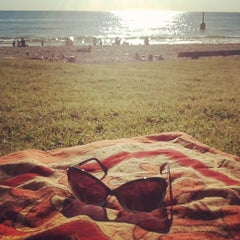 Photo taken at Cottesloe Beach by Rose V. on 9/8/2012