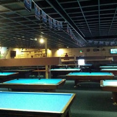 Photo taken at Shoreline Billiards by Michael S. on 2/12/2012