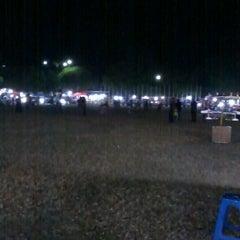 Photo taken at Alun - Alun Sragen by Monica Nanda B. on 7/21/2012