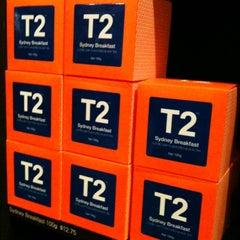 Photo taken at T2 Tea House by Pamela L. on 8/2/2012