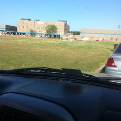 Photo taken at Lake Taylor Soccer Field by Willie C. on 4/16/2012