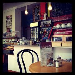 Photo taken at St. Gaudy Café by Felix B. on 3/27/2012