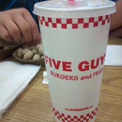 Photo taken at Five Guys by Joshua T. on 4/15/2012