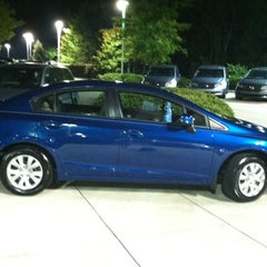 Photo taken at Crown Honda of Southpoint by Arden V. on 7/3/2012