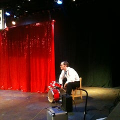 Photo taken at Greenhouse Theater Center by Rachel M. on 4/7/2012