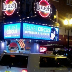 Photo taken at Laugh Factory by Tee L. on 9/6/2012