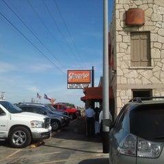 Photo taken at Grady's Bar-B-Q by Deidre P. on 6/30/2012
