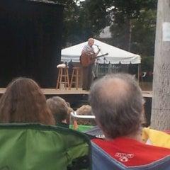 Photo taken at Prescott Park by Mark T. on 7/18/2012