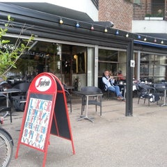 Photo taken at Den Franske Café by Rasmus J. on 9/5/2012