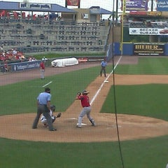 Photo taken at Coca-Cola Park by Caroline O. on 7/1/2012