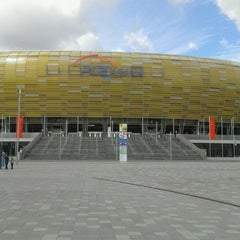 Photo taken at PGE Arena Gdańsk by Paweł S. on 7/13/2012