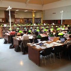 Photo taken at Bibliothèque Cujas by Ghazal H. on 4/28/2012