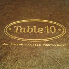 Photo taken at Table 10 by Emeril Lagasse by HERB (-_-) P. on 4/22/2012