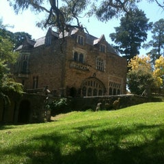 Photo taken at Montsalvat by Tish S. on 2/14/2012