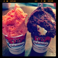 Photo taken at Gelatissimo by Meryl S. on 5/10/2012
