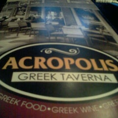 Photo taken at Acropolis Greek Taverna by Bill C. on 4/16/2012