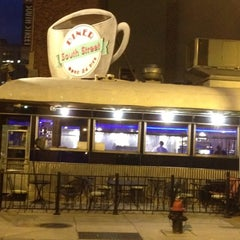 Photo taken at South Street Diner by Amy C. on 5/30/2012