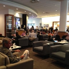 Photo taken at Delta Sky Club by Ann Michele L. on 5/7/2012
