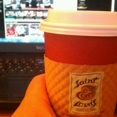 Photo taken at Saint Louis Bread Co. by Kyle P. on 6/3/2012